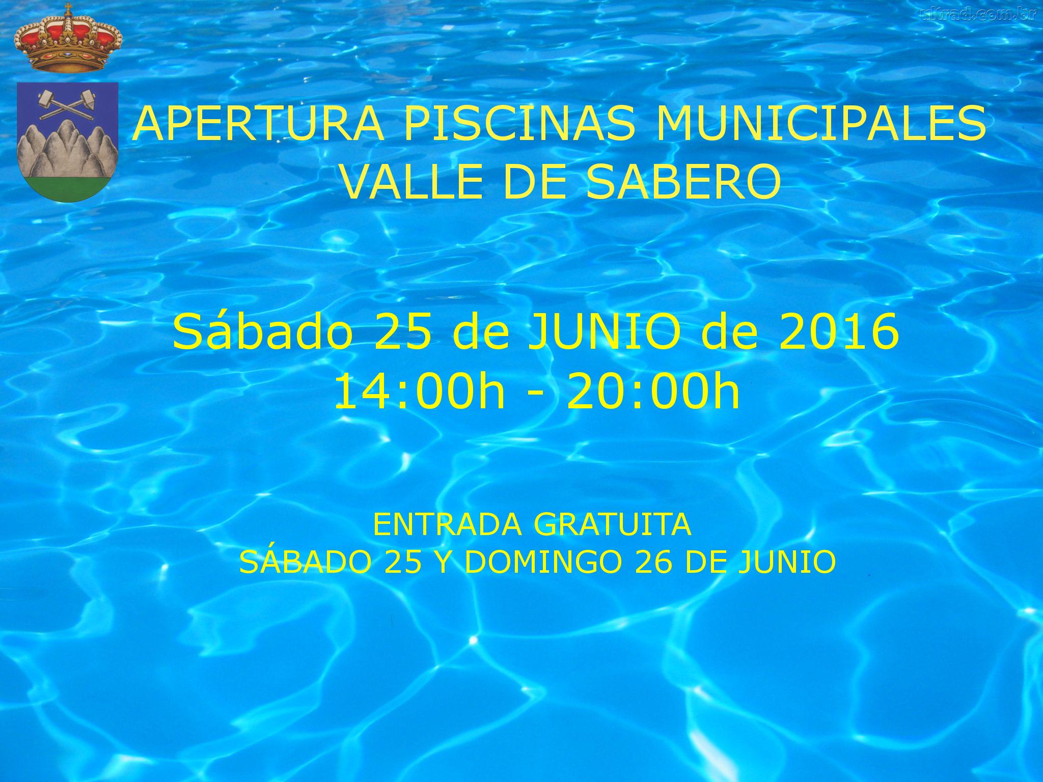 Apertura de las piscinas municipales temporada 2016 for Piscinas municipales madrid 2016